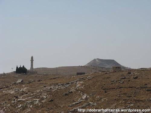 Herodium, Palácio de Herodes na Palestina visto ao longe