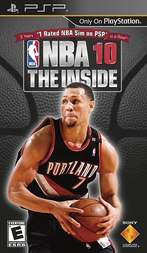 NBA10: THE INSIDE PSP cover