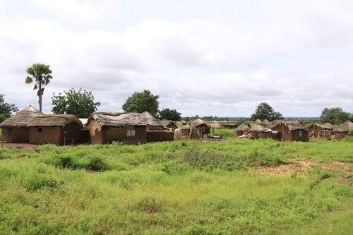 Rural settlement north of Tamale, Ghana.