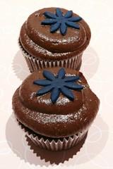 Chocolate Squared Cupcake