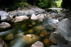 Mossman Gorge (~wibo~) Tags: longexposure river waterfall rocks north smooth boulders queensland tropical mossmangorge far neutraldensityfilter