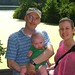 week 23- daddy, mommy, and Ben at Radnor Lake