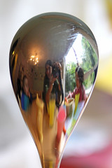 28th September - reflections (*superhoop*) Tags: reflection me dinner eli megan spoon hpad hpad2009 hpad280909