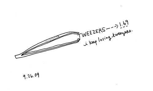 September 26th: Tweezers