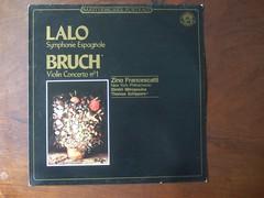 Lalo - Symphonie Espagnole, Bruch - Violin Con...