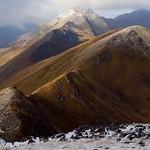 Looking west from Sgurr a Bhealaich Dheirg ridge thumbnail