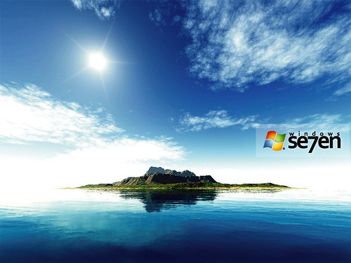 windows 95 wallpaper. Fantasy Island: Windows 7