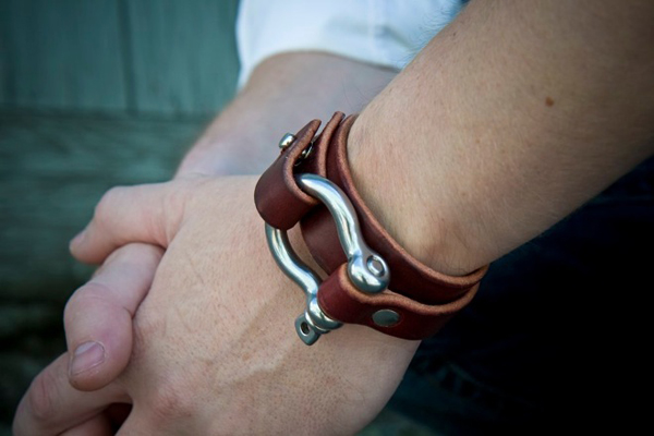 Leather Cuff  No 12a 03