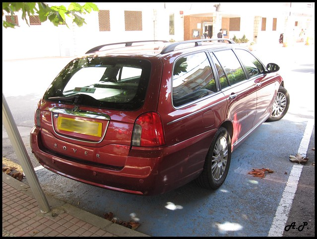 2004 Rover 75 Tourer. Lovely Wagon version of the rover 75, found in Castro