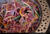 Thumbnail image for Red cabbage, Green Bean & Pasta Salad With Yogurt dressing