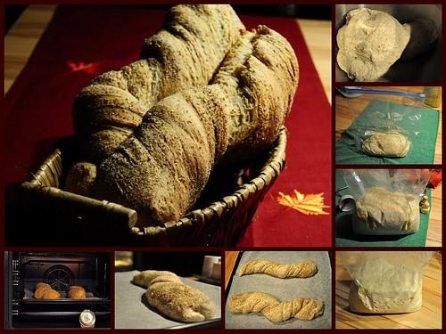 World Bread Day 2009: Twisted Bread