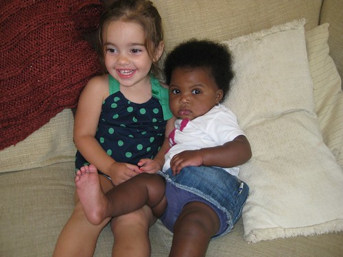 "Eleanor loves ""Baby Cece""!"