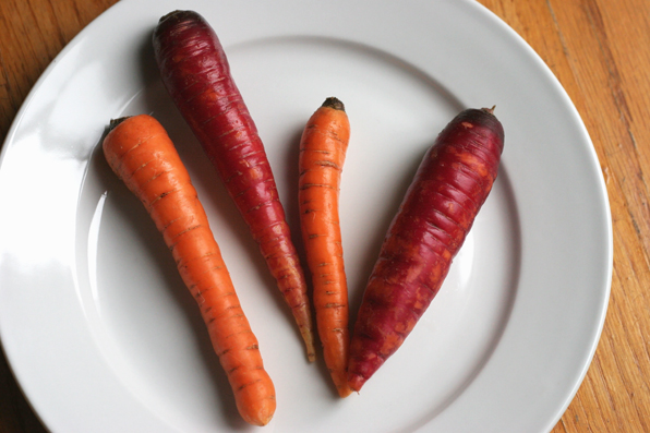 Carrots for Olive Oil Pumpkin Bread
