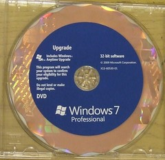 Windows 7 Pro - Windows 7 Pro - 32 Bit Disc