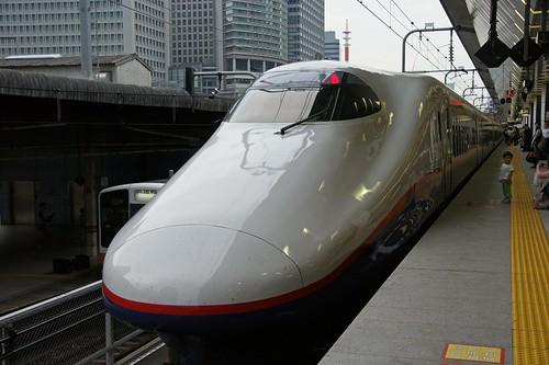 Nagano Shinkansen at Tokyo Station