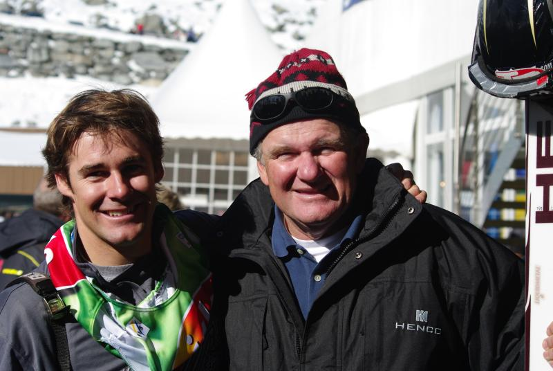 World Cup Solden - Warner and Casey