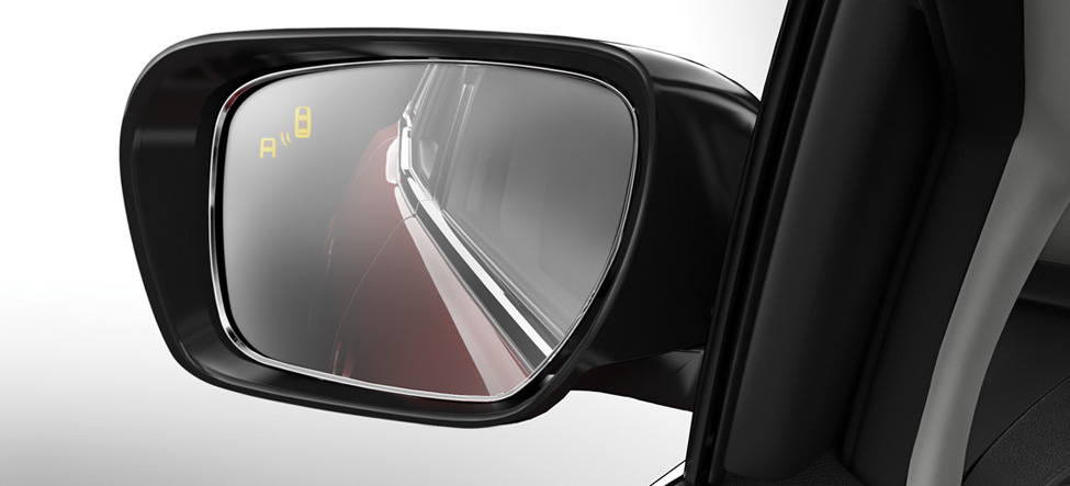 Blind Spot Monitoring Mazda CX-7