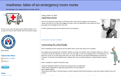 madness tales of an emergency room nurse
