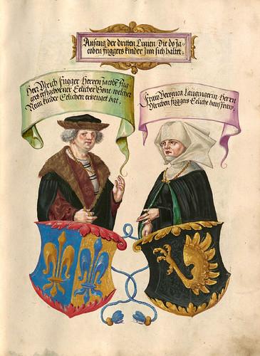 006-Das Ehrenbuch der Fugger 1545-1548-©Bayerische Staatsbibliothek