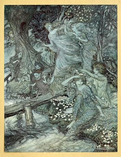 006-Comus de John Milton-ilustrada por Rackham 1921