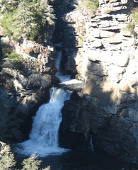 Linville Falls from Erwin\'s View (Linville Falls, North Carolina, United States) Photo