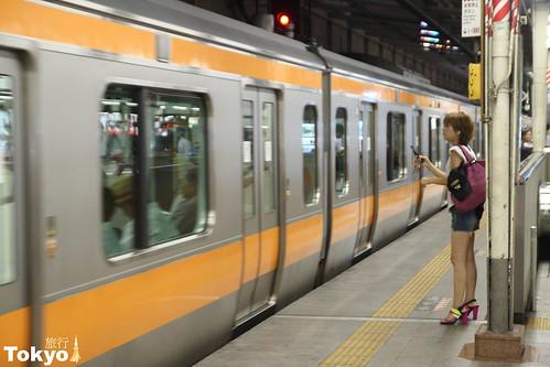 每天都要坐的地鐵