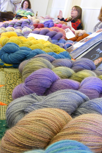 A sea of yarn