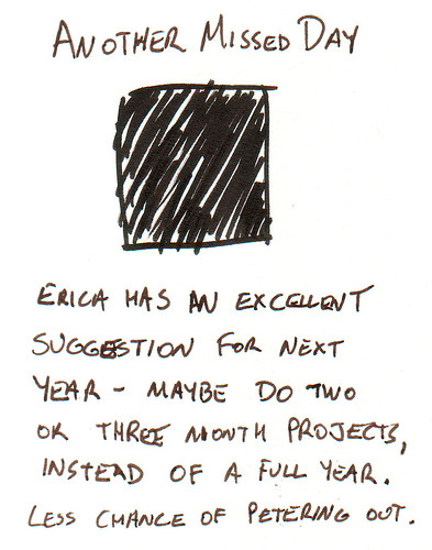 366 Cartoons - 277 - Another Missed Day