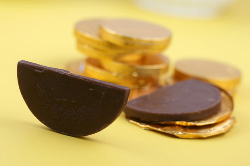 Chocolate Candy Coins