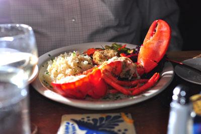 lobster at La Central