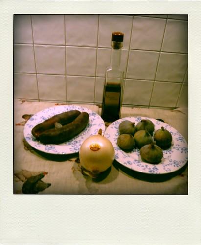 boudins chataignes figues et Xeres