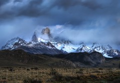 A View from the Ranch in Argentina and Guest Hosting on This Week in Photography (Stuck in Customs) Tags: world ranch travel blue wild sky patagonia foothills mountain snow mountains color nature argentina weather fog clouds danger america fence landscape photography march high nikon dynamic stuck natural wine hiking ominous south country scenic trails rocky peaceful peak hike andes wilderness top100 range 2009 hdr trey rugged majesty customs ratcliff stuckincustoms d3x