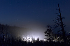 Close Encounters (masahiro miyasaka) Tags: blue winter japan night stars wonder star alien ufo astrophotography  et closeencounters xfiles area51 oneshot closeencounter   earthandsky Astrometrydotnet:status=failed Astrometrydotnet:id=alpha20091123939698