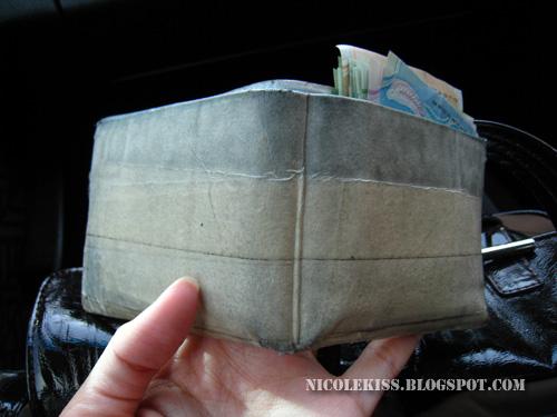 masking tape wallet
