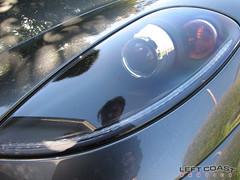 Ferrari F430 Spider Close-Up Headlights (Left Coast Classics & Exotics) Tags: auto california car closeup speed spider bordeaux 2006 ferrari exotic headlight luxury f430 leftcoastexotics grigiosilverstone