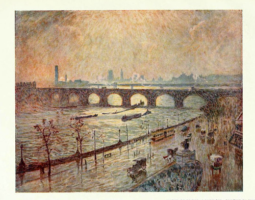 003-Pictures of London 1919-El puente de Waterloo pintado por Emile Claus