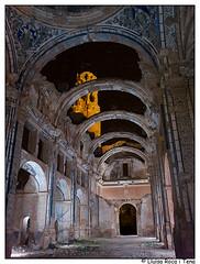 Iglesia de Belchite (Lluisa Roca) Tags: nocturna belchite aragón aragn campodebelchite