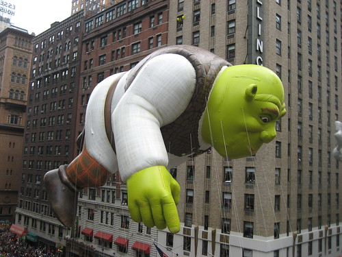 Shrek at Macy's Parade