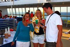 Cheers! (DOS82) Tags: ocean sea party summer people sun water boat ship cocktail drinks cheers cruiser kreuzfahrtschiff aida pooldeck clubschiff aidacara