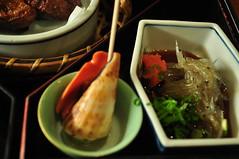 [Day5/Kochi]日曜市定食:海螺與水晶魚