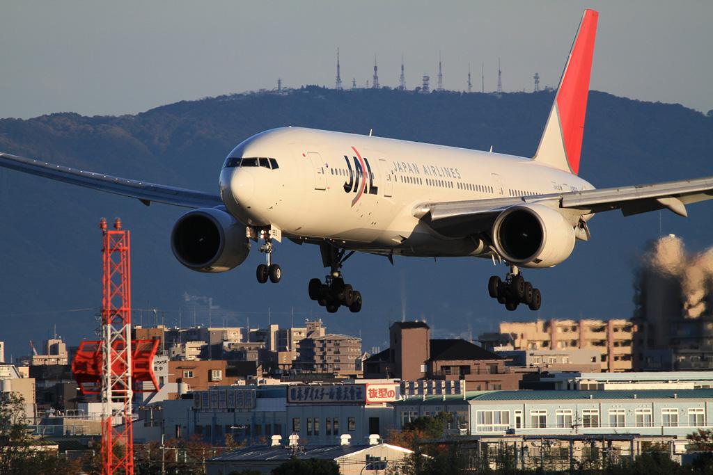 JAL's B777-200 (JA8982) @Skyland HARADA