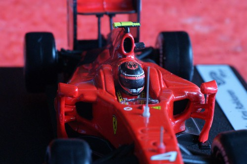 Hotwheels Ferrari F60, maybe the last F1 car driven by Kimi