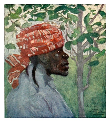 005-Una vieja jamaicana-The West Indies 1905- Ilustrations Archibald Stevenson Forrest