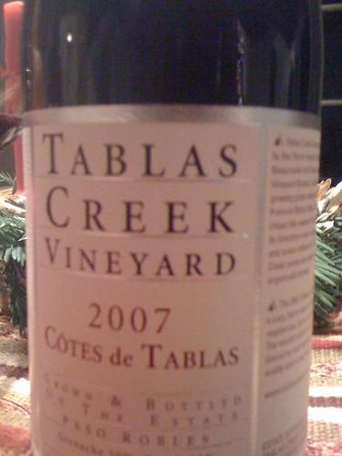 2007 Tablas Creek Côtes de Tablas