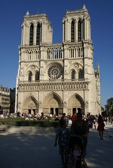 Paris, Kathedrale Notre Dame, Westfassade (Notre Dame Cathedral, western facade) (HEN-Magonza) Tags: paris gotik notredamecathedral îledelacité kathedralenotredame kathedralenotredamedeparis