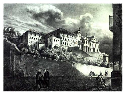004-Convento de S. Antonio en Rio de Janeiro-Buvelot Louis-1845