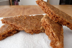 Oatmeal Walnut Shortbread Thins