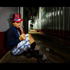 Who Moved the Celebration? (jibbit) Tags: blue photoshop nikon newyear lagos day1 nigeria 365 argyle dayone softbox f28 happynewyear project365 strobist jibbit d700 sb900 1424mm tinfoilsparkler seriouslyithoughtthiswasgoingtolookgood paperhornwhistleblowythingamajig