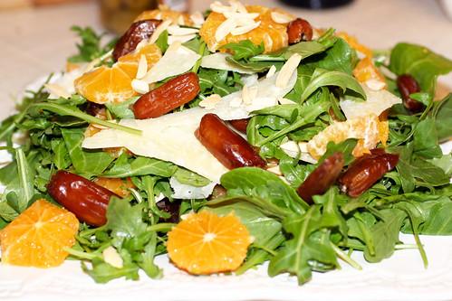 Blood Oranges, Dates, Parmesan, And Almonds Recipes — Dishmaps