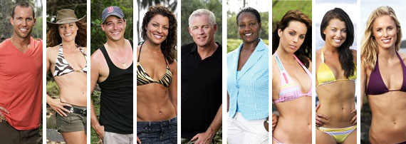 Survivor Heroes Vs Villains Colby Jerri Rob Mariano Steph Tom Westman Cirie Fields Danielle Parvati Candice